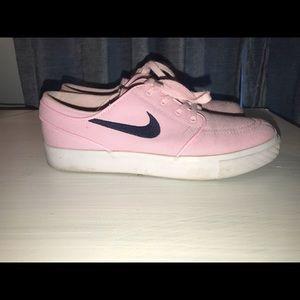 Nike SB Zoom Stefan Janoski  Pink EUC Women's 7.5